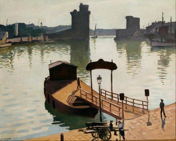 Albert Marquet, Port de La Rochelle.