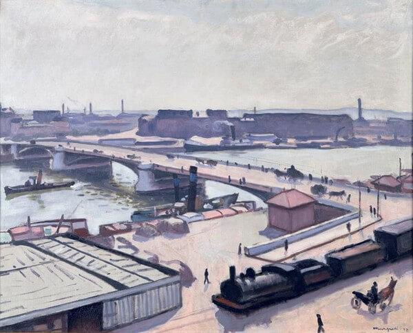 Albert Marquet, Rouen, quai de Paris, 1912.