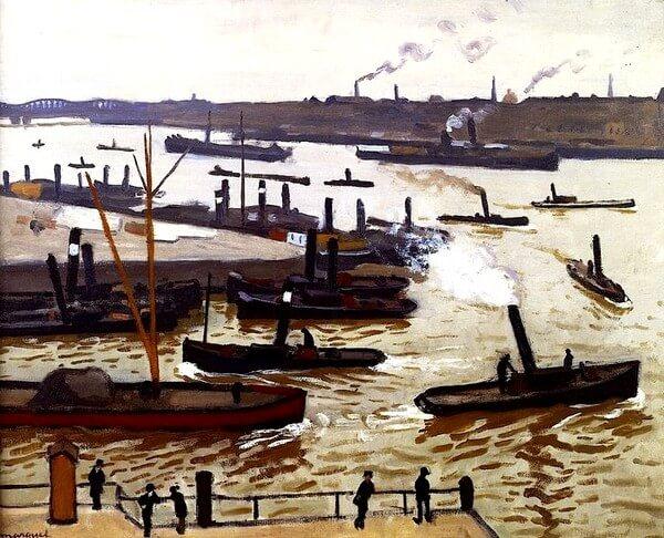 Albert Marquet, Port de Rotterdam.