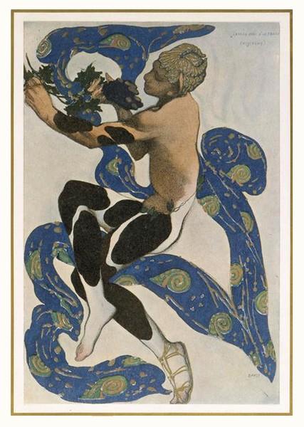 Claude Debussy. Monsieur Croche, antidilettante, Frans leren, Vivienne  Stringa. Nijinsky dans L'Après-midi d'un faune, par Léon Bakst