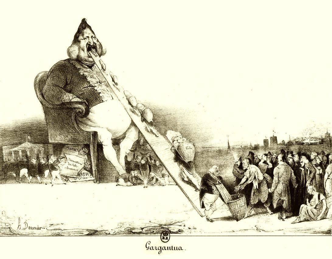 Les Arts et le commerce, Gustave Flaubert, Frans leren, Vivienne Stringa, frans vertalingen.Honoré Daumier ; Gargantua