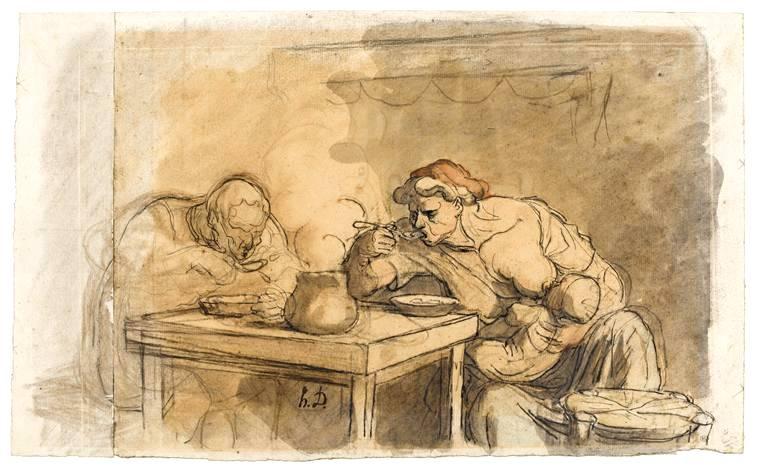 Le  Bon, Gustave (1841-1931) : Les Illusions des théories politiques (1910). Daumier Honoré. Frans leren, Vivienne Stringa