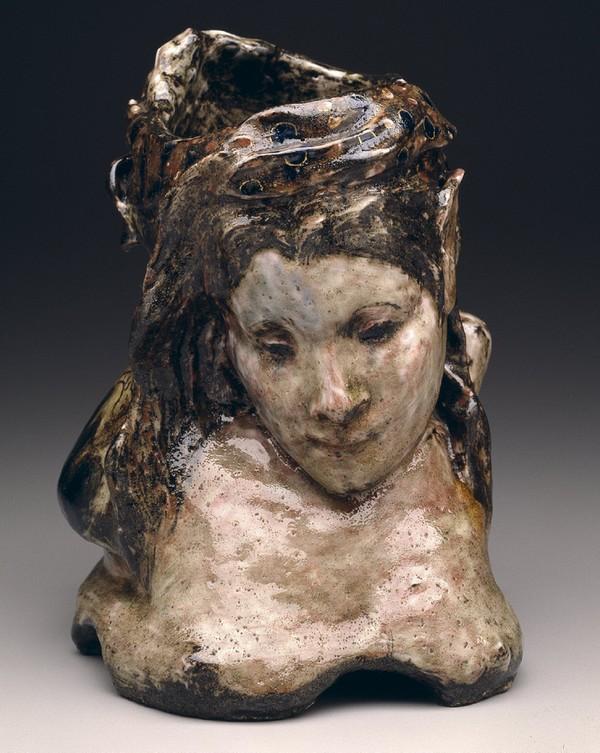Portrait Vase de Mme. Schuffenecker, Paul Gauguin