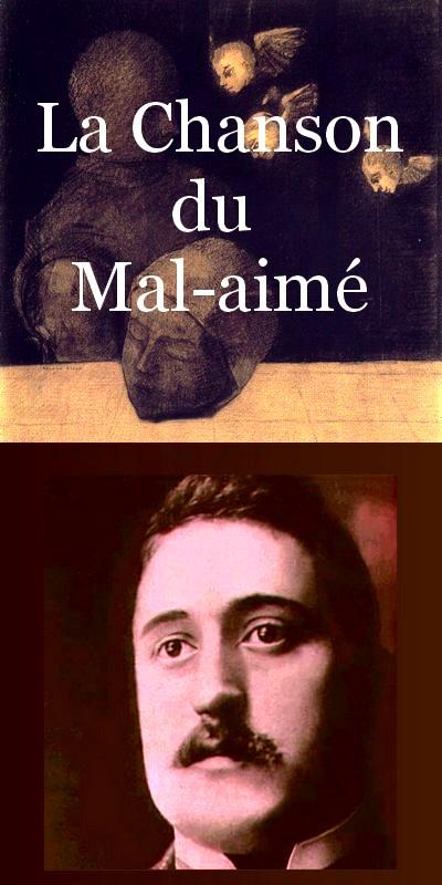 Guillaume Apollinaire. La chanson du Mal-Aimé. Et je chantais cette romance... . Estampes  Odilon Redon. Léo ferré. Frans leren, Vivienne Stringa