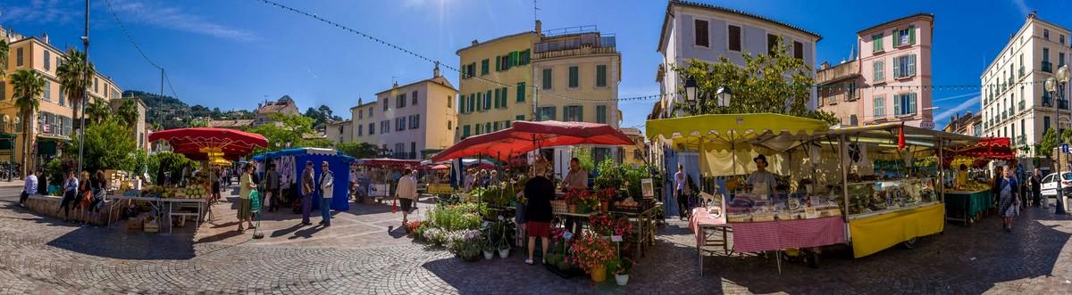 Marché de Provence. La Seyne-sur-Mer  Spreekvaardigheid Frans, op de markt: au marché