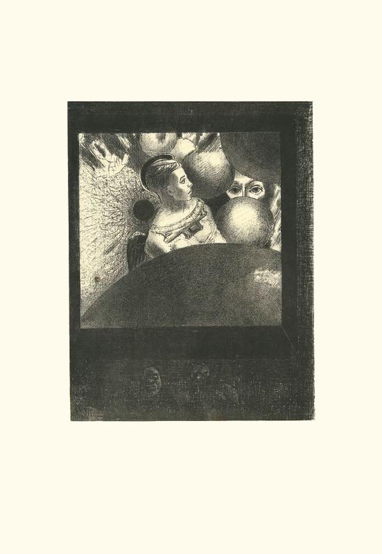 Le souffle qui conduit les êtres est aussi dans les SPHERES | estampe (1882) | Odilon Redon. Guillaume Apollinaire. La chanson du Mal-Aimé. Et je chantais cette romance En 1903 sans savoir Que mon amour à la semblance Du beau Phénix s'il meurt un soir Le matin voit sa renaissance. Léo ferré. Frans leren, Vivienne Stringa