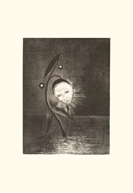 DLa fleur du marécage, une tête humaine et triste. | Odilon Redon. Guillaume Apollinaire. La chanson du Mal-Aimé. Et je chantais cette romance En 1903 sans savoir Que mon amour à la semblance Du beau Phénix s'il meurt un soir Le matin voit sa renaissance. Léo ferré. Frans leren, Vivienne Stringa