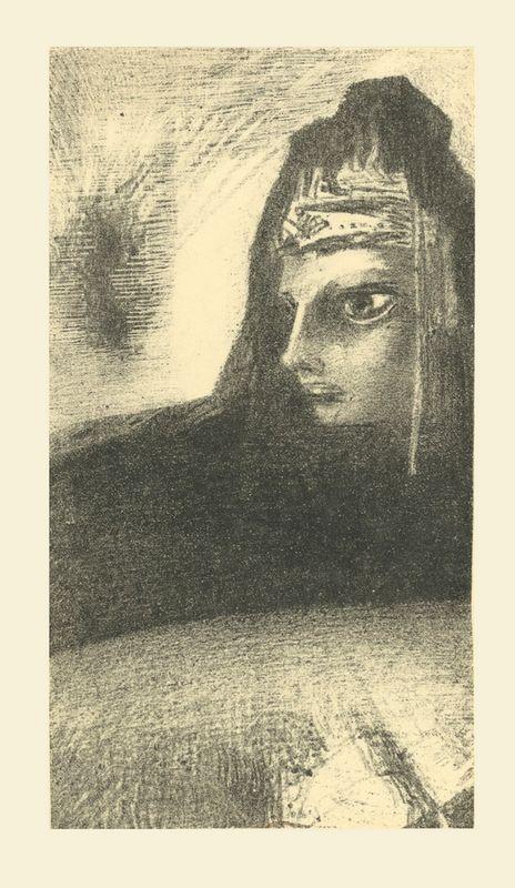 Guillaume Apollinaire - L'oeuvre du Marquis de Sade, introduction, frans leren, Vivienne Stringa. Cime noire  | estampe | Odilon Redon