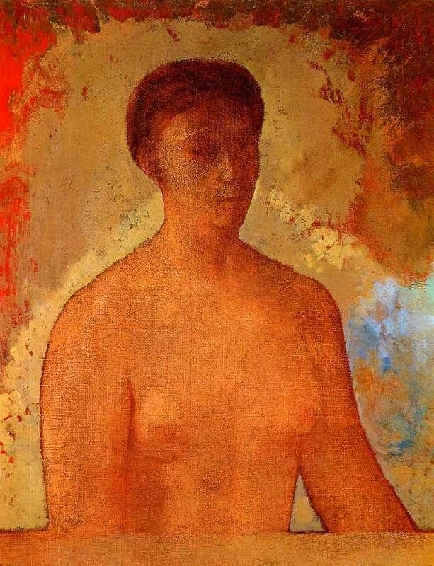 Charles Baudelaire - Les Paradis artificiels, frans leren, Vivienne Stringa. | Eve (1904)  Odilon Redon