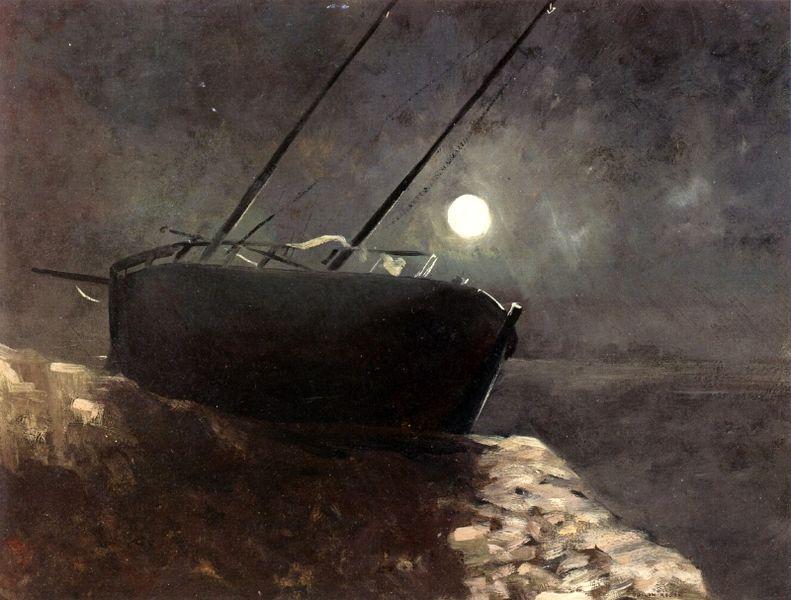Charles Baudelaire - Les Paradis artificiels, frans leren, Vivienne Stringa. |Voilier Au Clair De LuneOdilon Redon