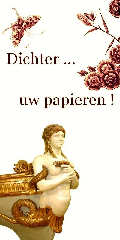 """Voorwoord """"Dichter ... uw papieren !""""  Léo Ferré"""