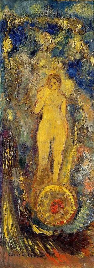 't Is Extra. C'est Extra. Léo Ferré. kunst en kunstenaars. Frans leren, Vertaling,  Vivienne  Stringa. Odilon Redon