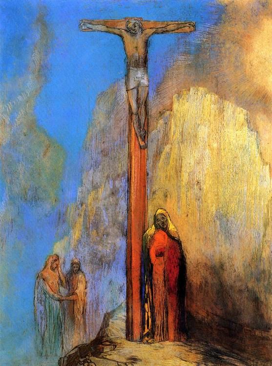 Odilon Redon, Saint-Jean. De Wolf (Le loup), léo Ferré, vertalingen, frans leren, Vivienne Stringa