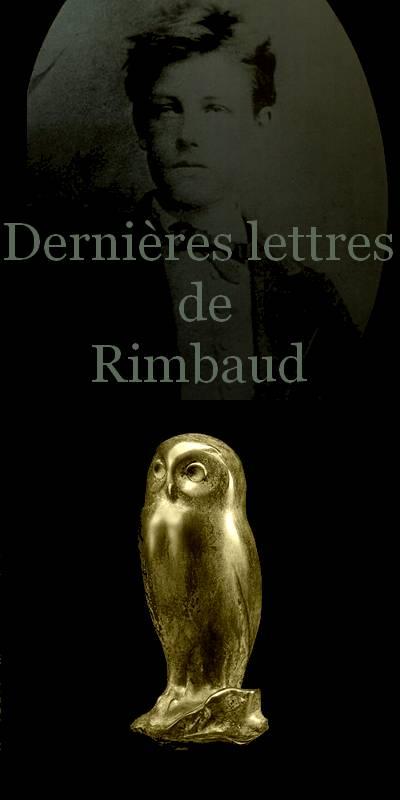 Arthur Rimbaud, Dernières lettres commençant à Harar, ville située à l'Est de l'Éthiopie, le 25 février 1890, jusqu'à celles envoyées de Marseille.