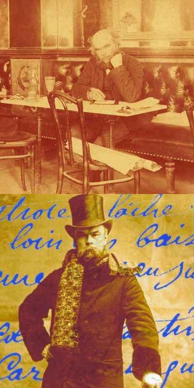 "Voorwoord door Léo Ferré "" Les poèmes saturniens "" van Paul Verlaine"