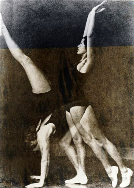 Exercices de gymnastique Wulz Wanda (1903-1984) ,  photographe