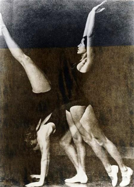 Exercices de gymnastique Wulz Wanda (1903-1984) ,  photographe