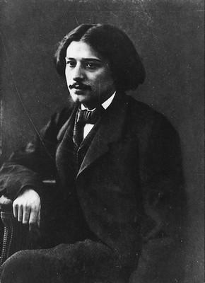 Alphonse Daudet  Felix Nadar, 1865