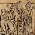 Fauvain, parvenu au faîte des pouvoirs laïc et ecclésiastique, bannit l'auteur en lui tirant la langue.