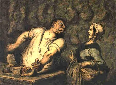 Honoré-Victorin Daumier. Le Boucher