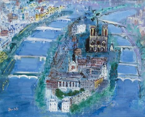 L'île Saint-Louis, Léo Ferré, poëzie, Vertaling van zijn gedichten, Poëtische Kunst, poëzie, vertaling Vivienne Stringa