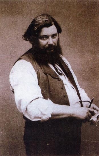 Brief van Gustave Courbet aan Maurice Richard, Minister der Schone Kunsten. Frans leren.Vertaling Vivienne Stringa