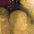 La mère et l'enfant . Odilon Redon, Aan zichzelf. Haarlem, Amsterdam.  À soi-même.  Journal. Notes sur la vie l'art et les artistes(1922 ).  Aan zichzelf  / Dagboek / Notities over het leven, kunst en kunstenaars. Frans leren, Vivienne  Stringa