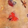 Les papillons, Odilon Redon, Aan zichzelf. Haarlem, Amsterdam.  À soi-même.  Journal. Notes sur la vie l'art et les artistes(1922 ).  Aan zichzelf  / Dagboek / Notities over het leven, kunst en kunstenaars. Frans leren, Vivienne  Stringa