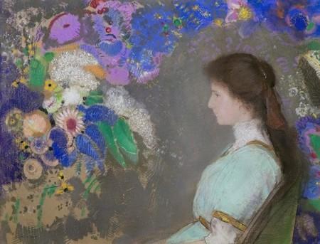 Odilon Redon, Portrait de Violette Heymann. HONORÉ DE BALZAC, Ursule Mirouët , vertaling; Frans leren; literatuur; Vivienne Stringa