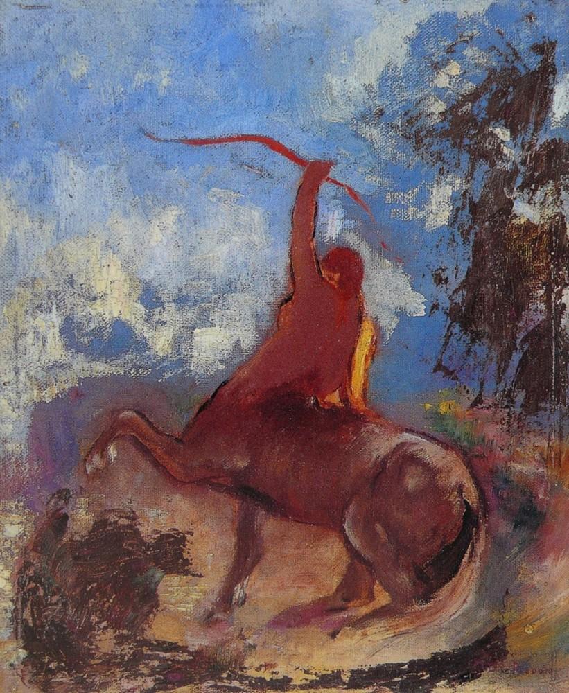 Odilon Redon. Frans leren ,Vivienne Stringa