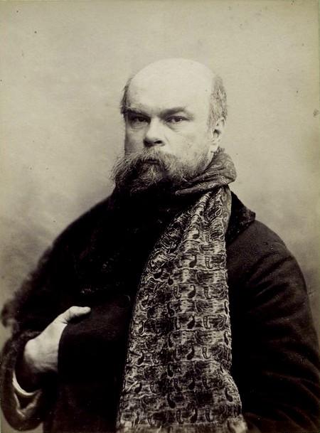 "Voorwoord door Léo Ferré  "" Les poèmes saturniens ""  van Paul Verlaine. Frans leren. Vertaling Vivienne Stringa"