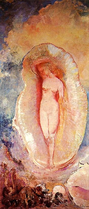 Odilon Redon La Naissance de Venus, 1912 Honoré de Balzac, Ursule Mirouët 2, Frans leren, vertalingen
