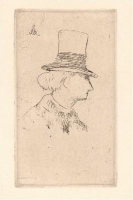 correspondentie Charles Baudelaire  aan Narcisse Ancelle. frans leren, Vivienne Stringa. Edouard Manet, Portrait de Charles Baudelaire